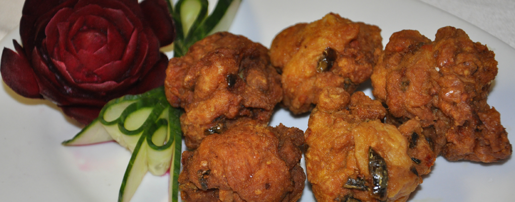 Our succulent pakoras will have you coming back for more!