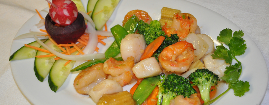 Shrimp with Mixed Vegetables — the best of both worlds!